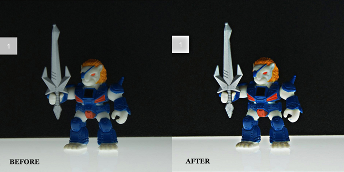 Before After BB Lion