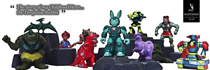 Turquoise Rabbit Hero
