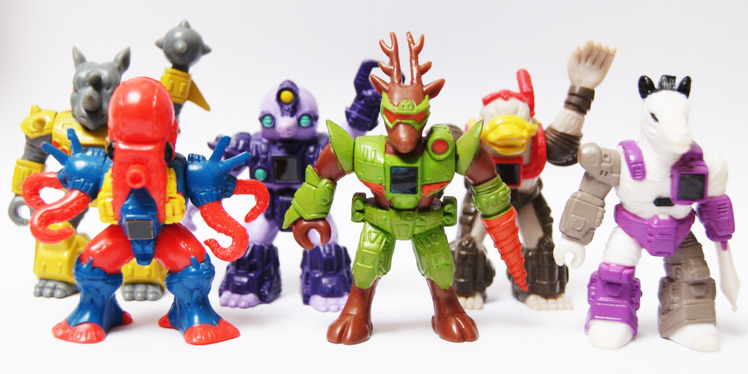 BATTLE BEASTS SERIES 3 BEASTS have Rotating Arms /& Working Heat Rubs ALL 13